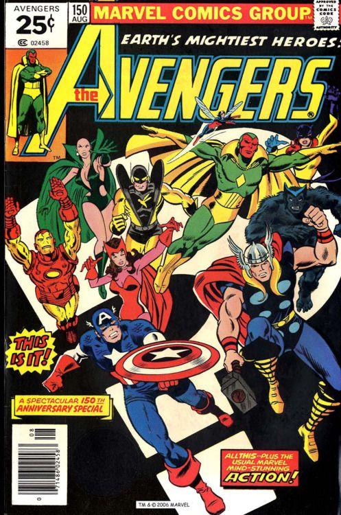 The Avengers #150 Marvel Comics Group