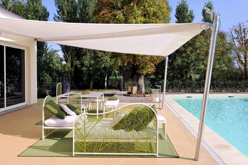 pergola with sail shade google search