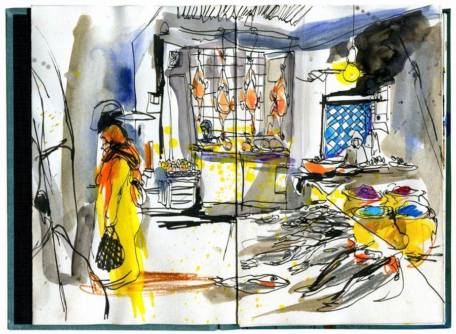 Inma Serrano na casa-Atelier Vieira da Silva Eduardo Salavisa