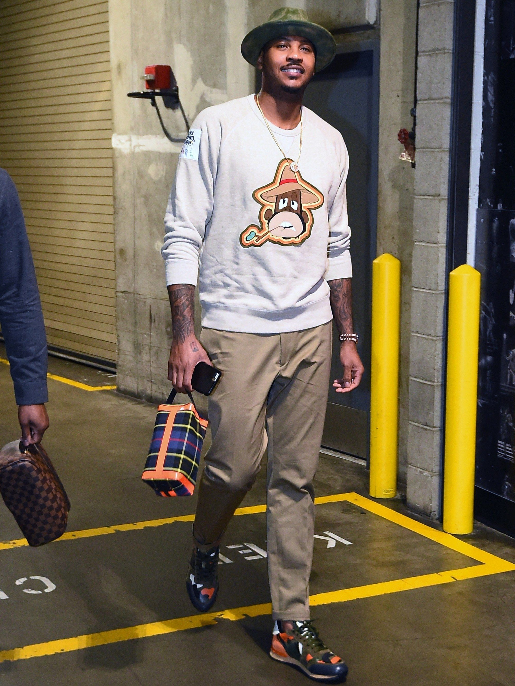 bcc0c2e9c798 The Best and Craziest Pre-Game Fits of the 2017-18 NBA Season (So Far)