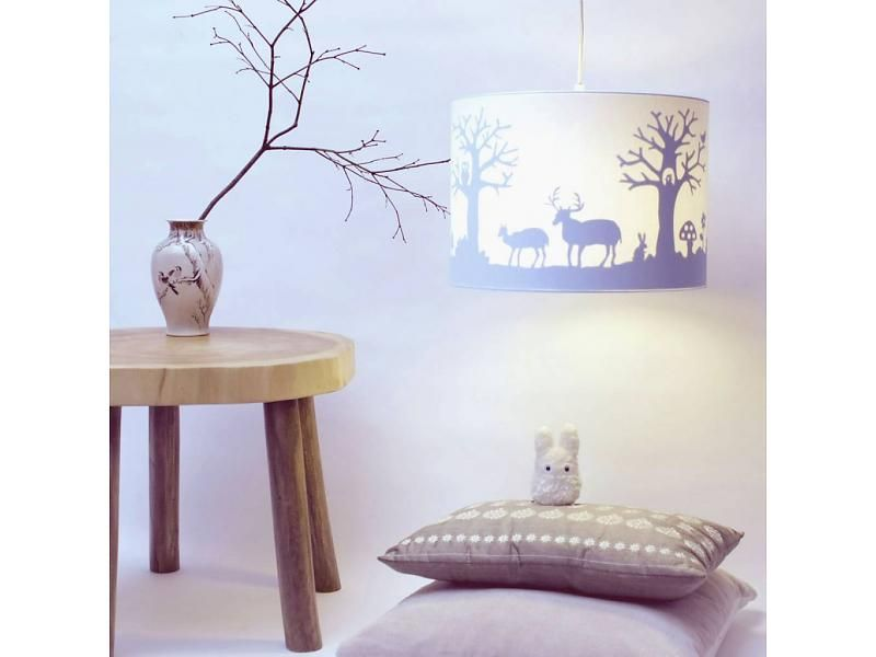 Kinderzimmerlampe Junge ~ Magic forest toverlamp #woodland silhouette lamp #surprise