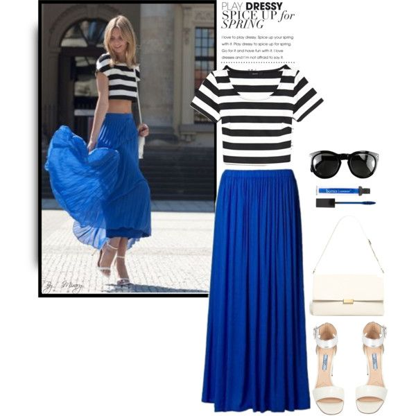 """""""Blue me away"""" by mirary on Polyvore"""
