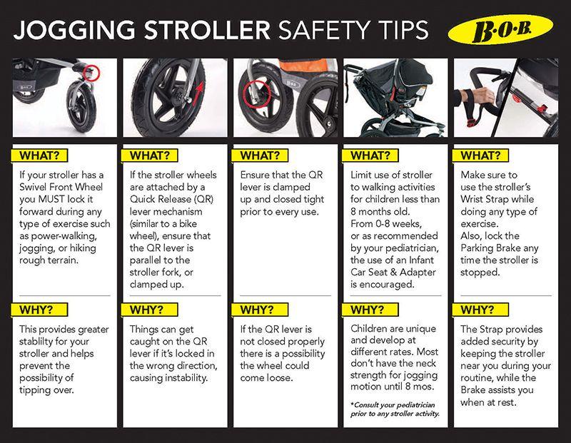 Jogging Stroller Safety Tips BOBgear Jogging stroller