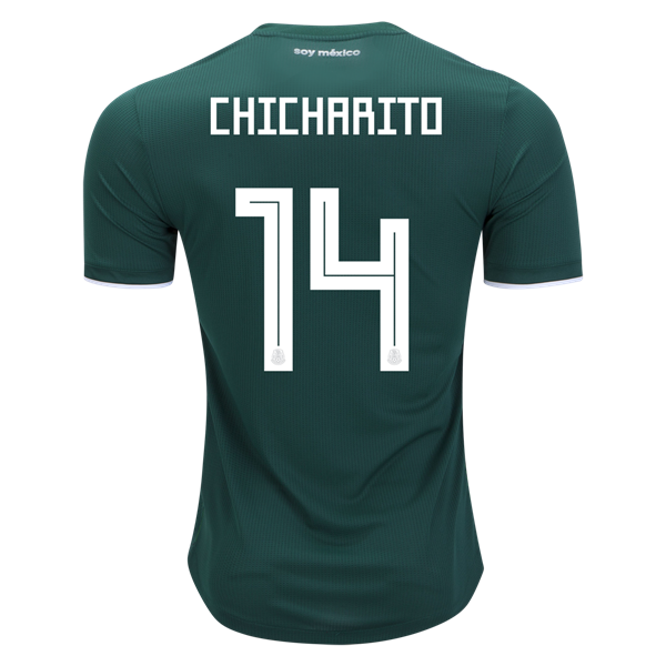 db7436776 2018 FIFA World Cup Mexico Any Name Number Long Sleeve Home Soccer Jersey