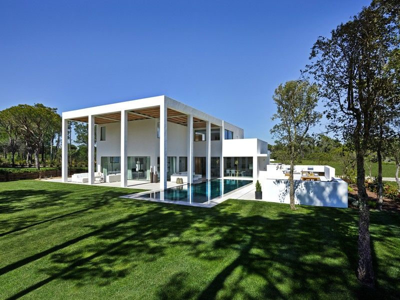 San Lorenzo North House In Quinta Do Lago Portugal By De Blacam