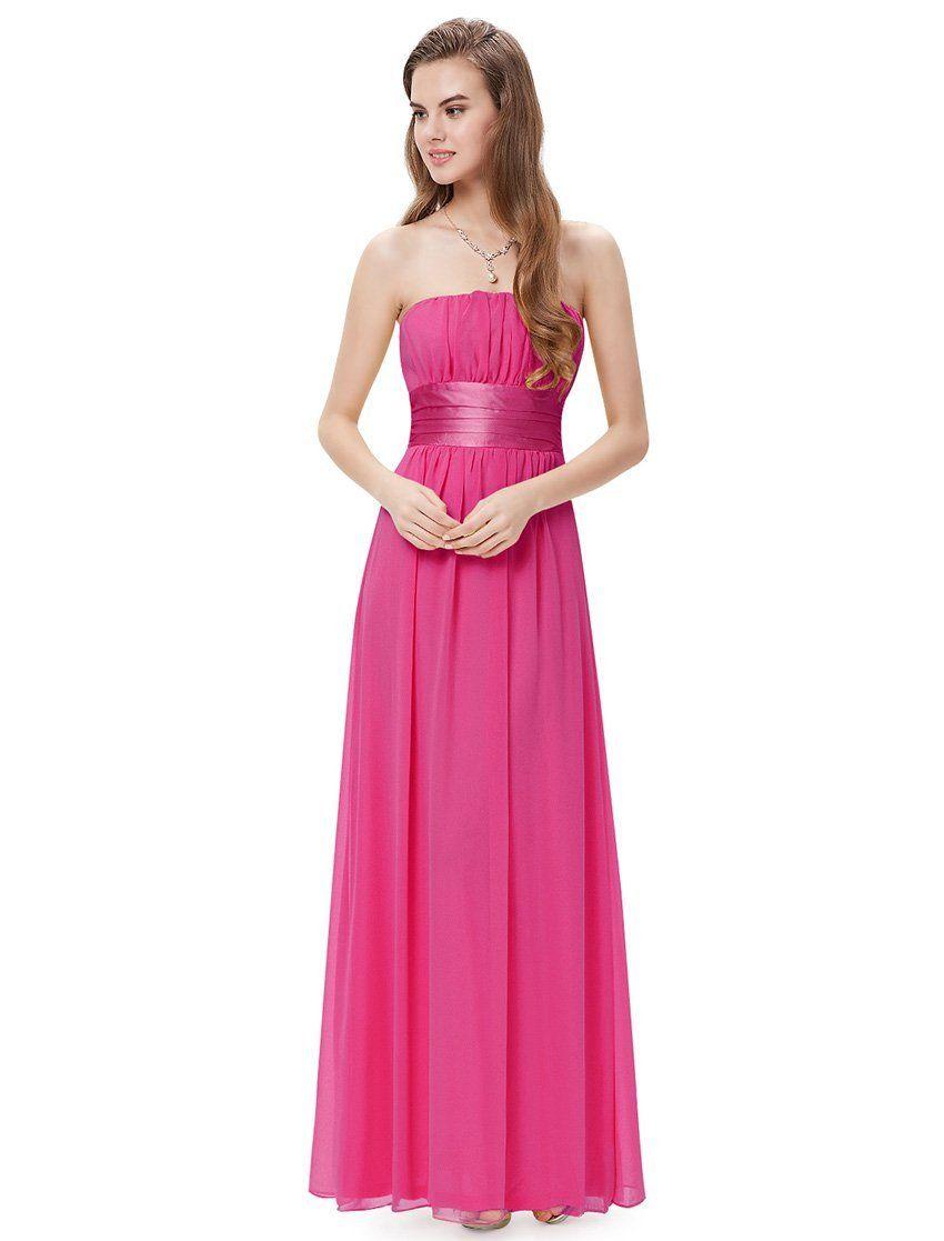 Ever Pretty Empire Waist Bowtie Strapless Evening Dress 09060 ...