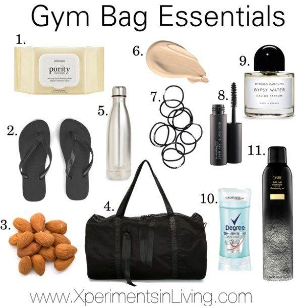 Gym Bag Essentials Www Xperimentsinliving Com Gym Bag Essentials Gym Essentials Bag Gym Bag Essentials Women