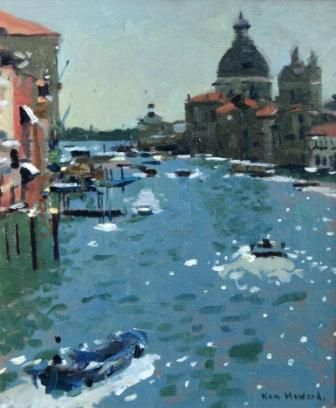 Ken HOWARD RA artist, paintings and art at the Red Rag
