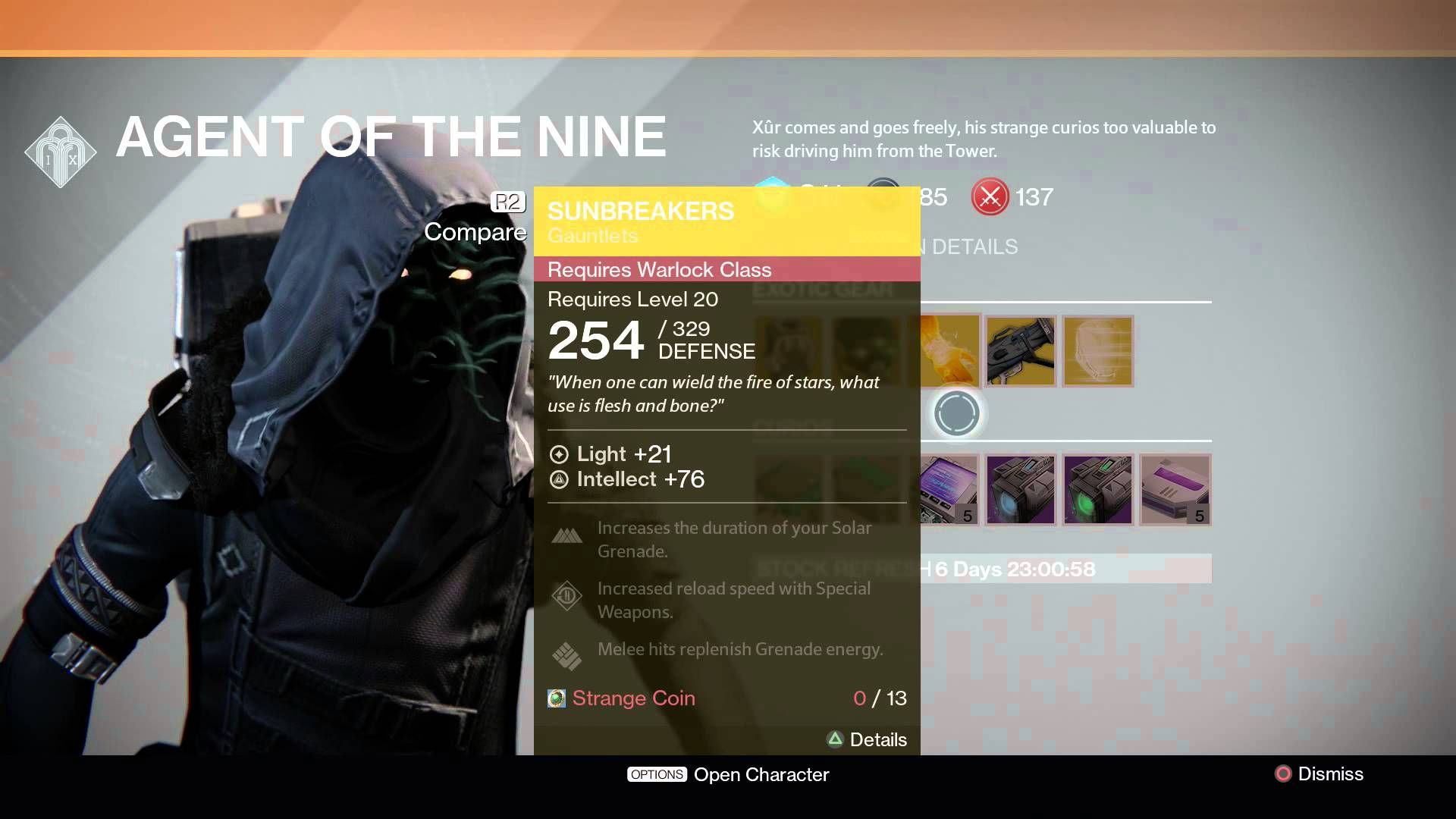 Xur Pin On Video Games