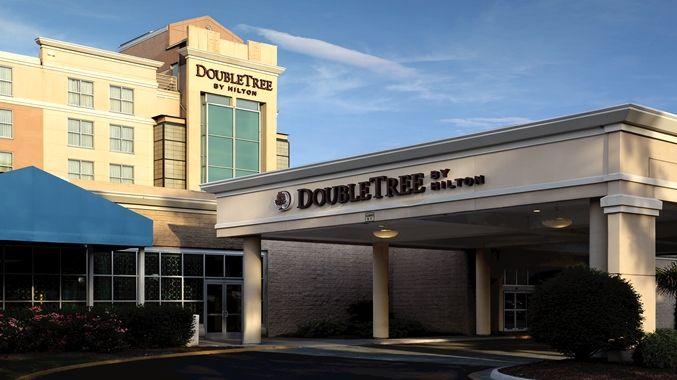 Doubletree By Hilton Hotel Norfolk Airport Va Exterior