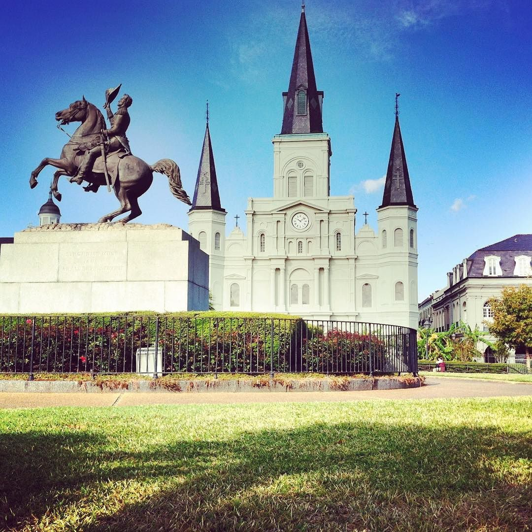 #neworleans #nola #nawlins #louisiana #stlouiscathedral #frenchquarter #jacksonsquare #cathedral #church #2011 by fawks718