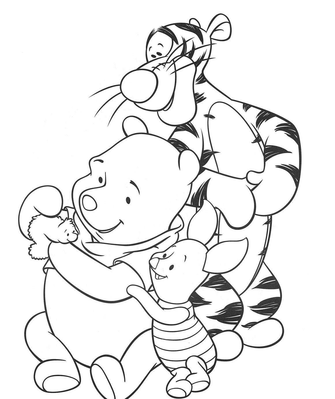 Pin Van Steffi Smeys Op Pooh Kleurplaten Pooh Dieren Kleurplaten