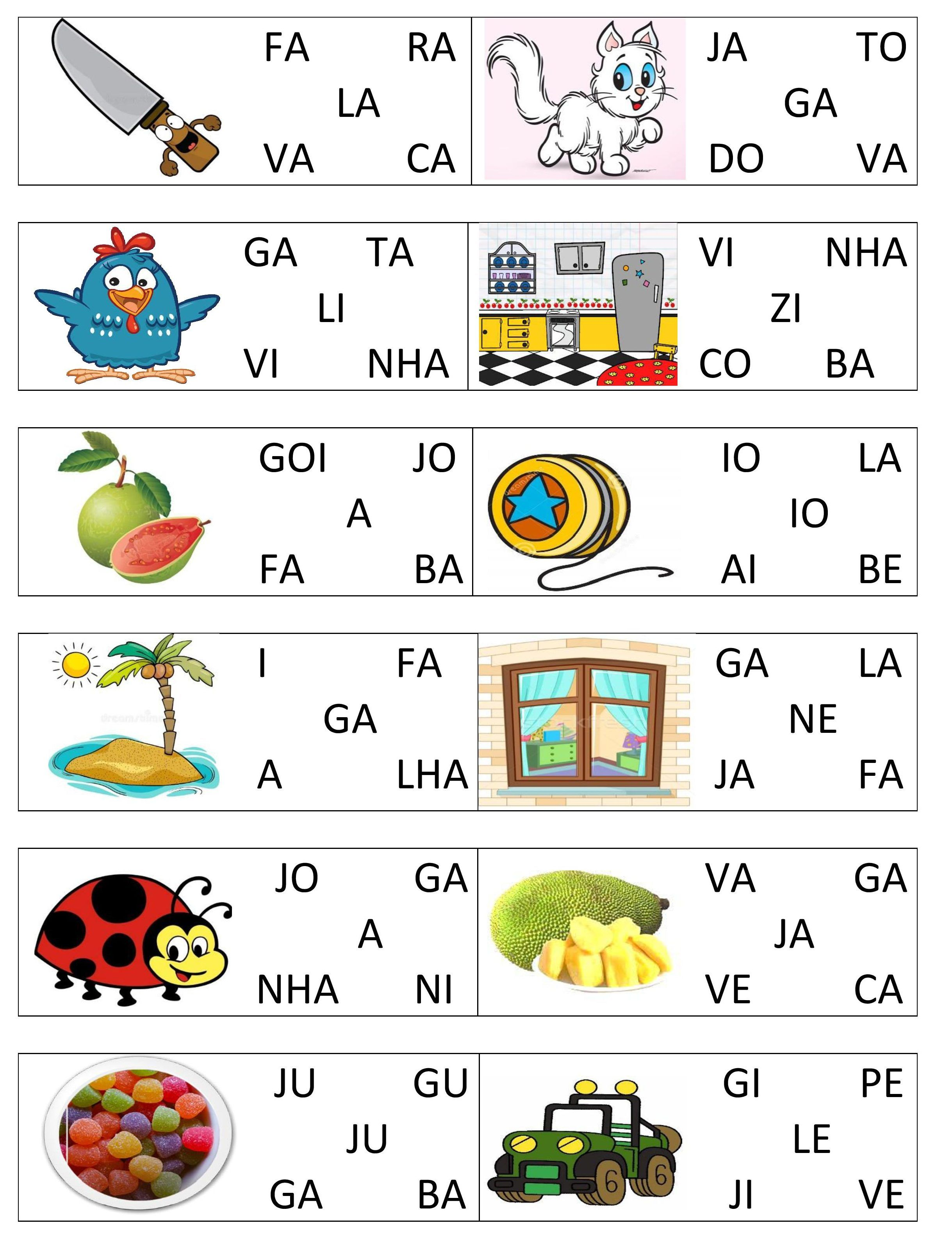 Jogo De Formacao De Palavras Pdf Versao 1 3 003 Atividades De Alfabetizacao Atividades Formacao De Palavras