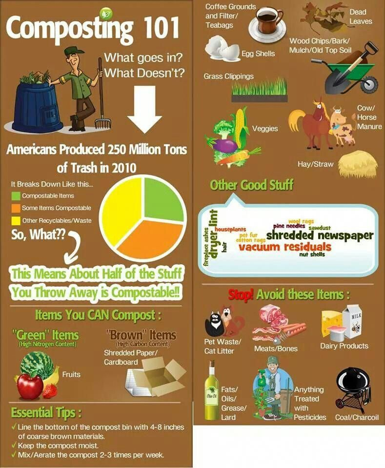 Composting 101 #Vegetablegardenideas