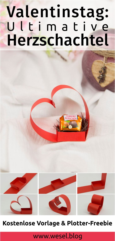 Valentinstag Ideen: Ultimative Herzschachtel | Valentinstag ideen ...