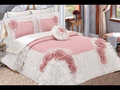 مفارش سرير تركية للعرسان فرشات سرير للعروس Turkish Bed Covers Youtube Roupa De Cama Cama Chique Lencol De Casal