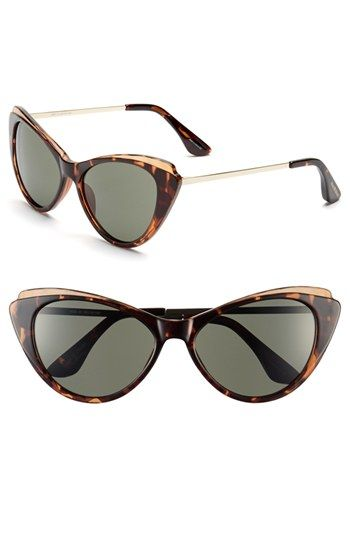 Isaac Mizrahi New York 57mm Cat Eye Sunglasses available at  Nordstrom  Óculos De Sol Da e5da668546