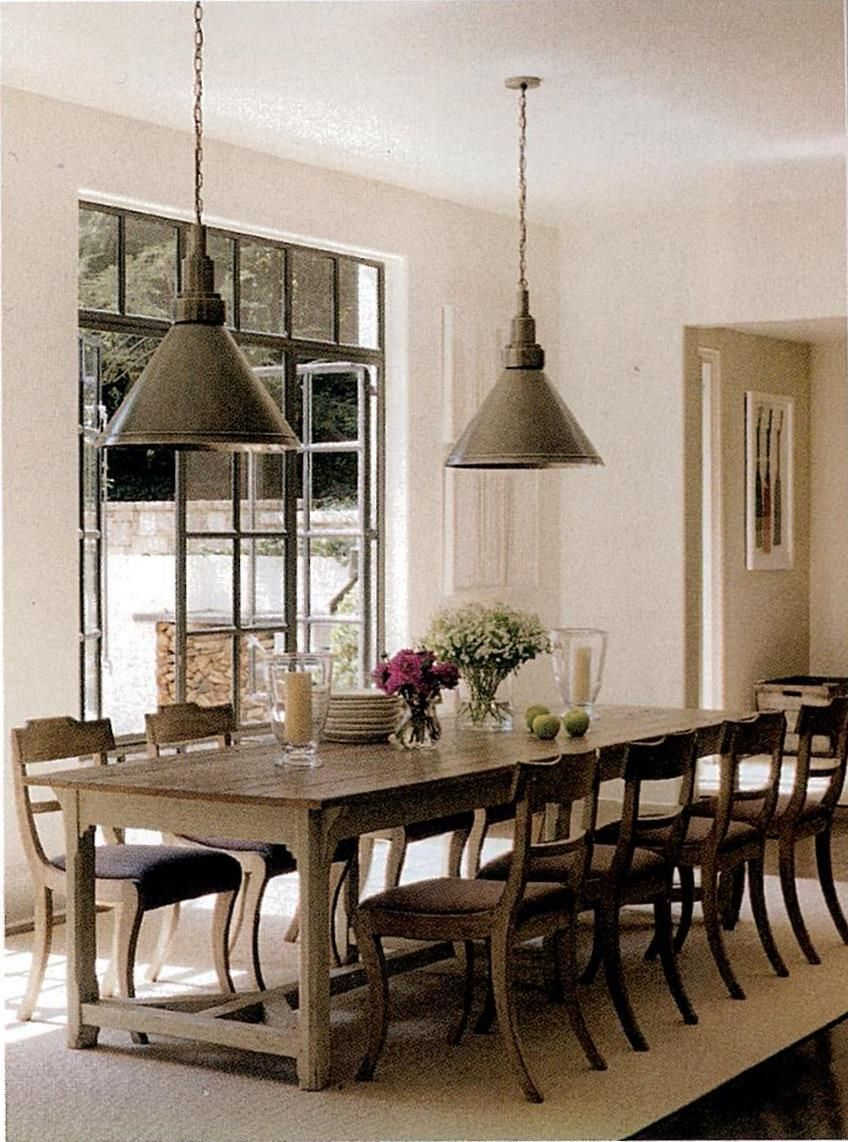 Suzanne kasleriuve always wanted a huge farm table for spreading