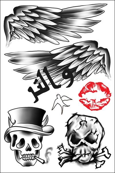Zayn Malik Temporary Tattoos By Popstartats Com