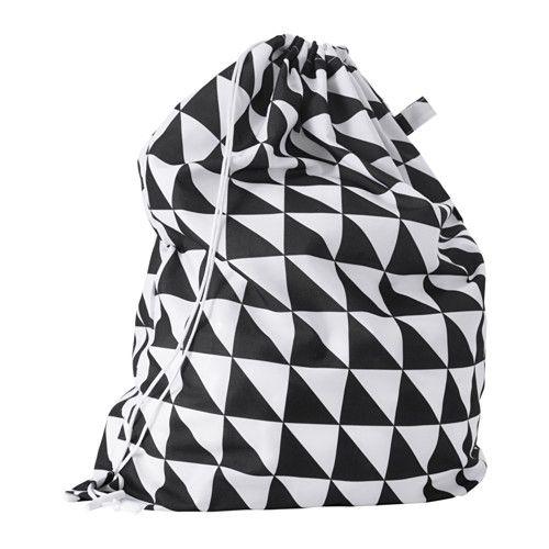 Snajda Laundry Bag Black White Ikea Laundry Laundry Shop