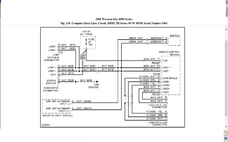 Western Star Wiring Diagram from i.pinimg.com