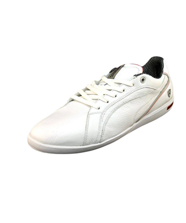 1684c2da2b9 PUMA PUMA PRIMO SF-10 ROUND TOE LEATHER SNEAKERS .  puma  shoes  sneakers