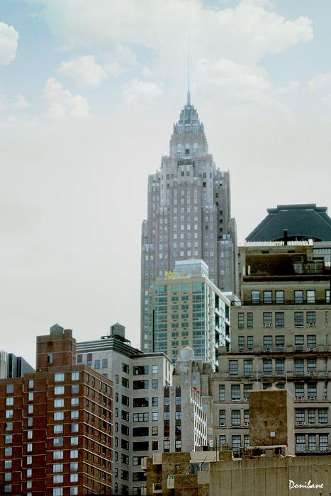 New York Buildings by Donibane | Para pintar | Pinterest | Pintar