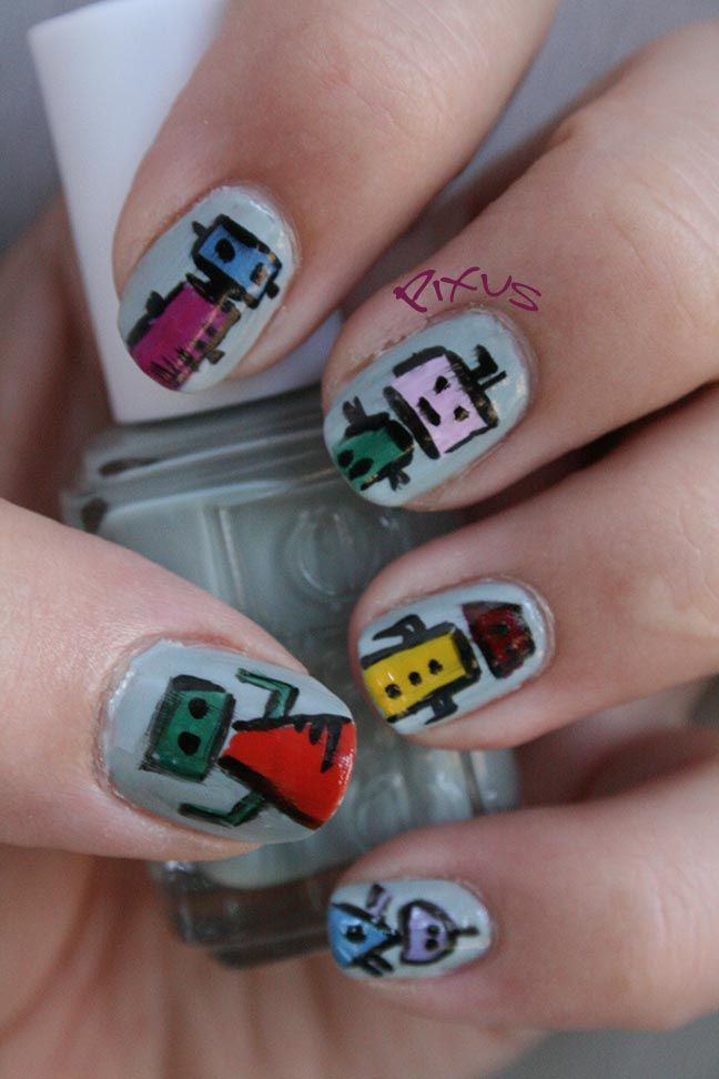 Nail Art by Pixus - Album on Imgur | Makeup, Costumes & Effects Oh ...