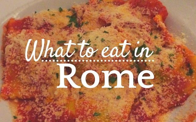 The Best Places To Eat In Rome Get Out Of The Touristy Centre - The best places to eat in rome