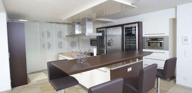 Hochwertige Einbauküche LBKonyha(modern) Pinterest - küche mit side by side kühlschrank