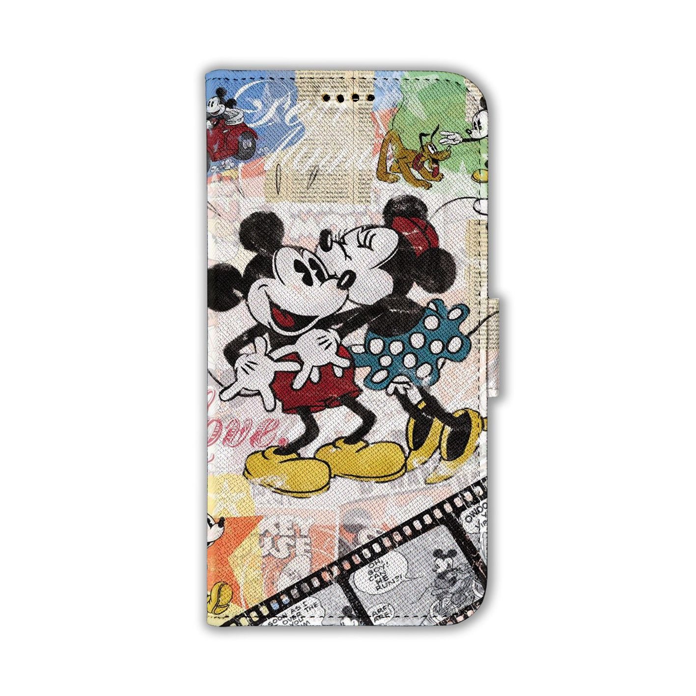 Iphone Xr Xs Max Case Disney Mickey Card Slot Leather Wallet Cover