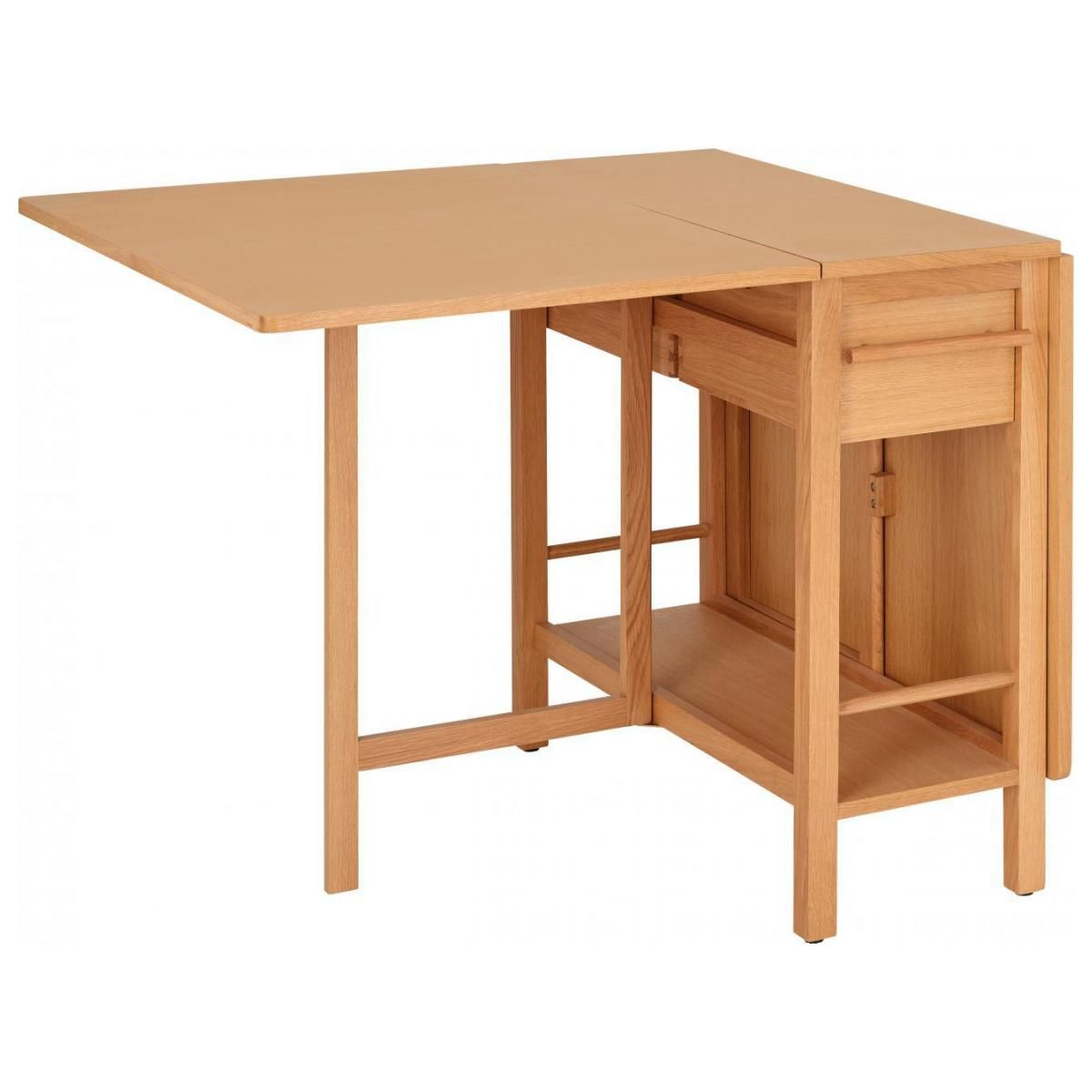 Malen Table Rabattable En Chene En 2020 Table Rabattable Table Salle A Manger Table