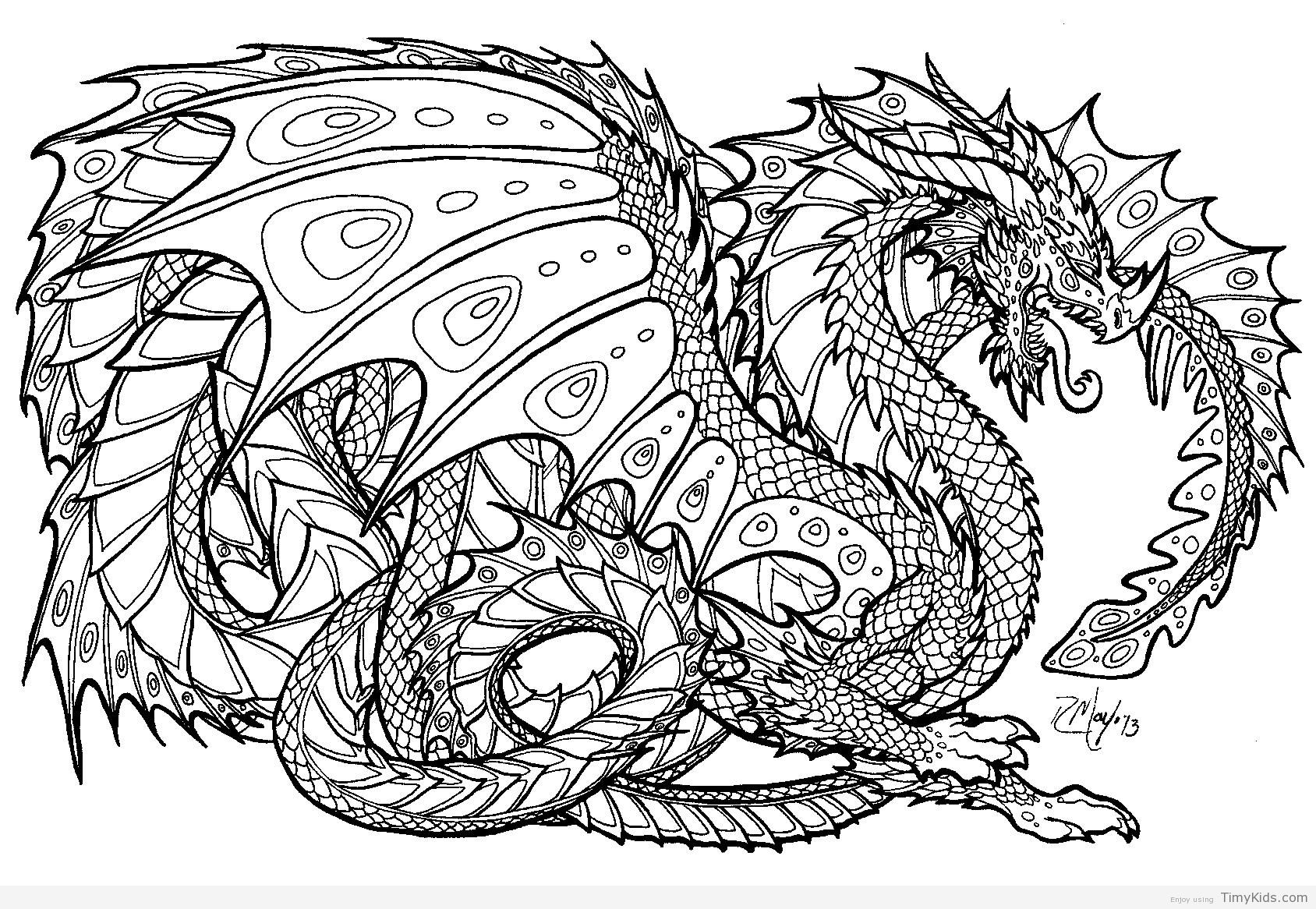 Ausmalbilder Fantasie Drachen : Http Timykids Com Free Printable Dragon Coloring Pages Html