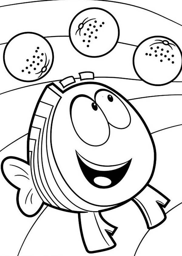 nonny printable guppies coloring pages bell | News to Gow ...