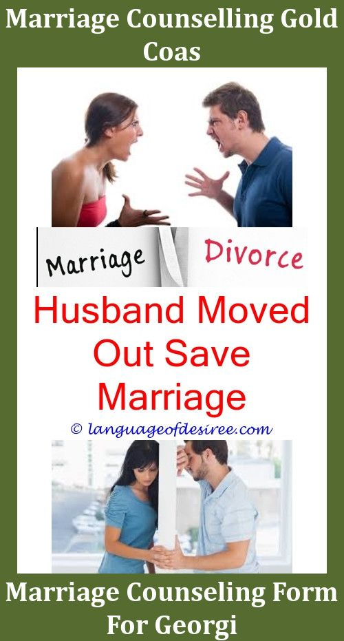 Husband moved out save marriage