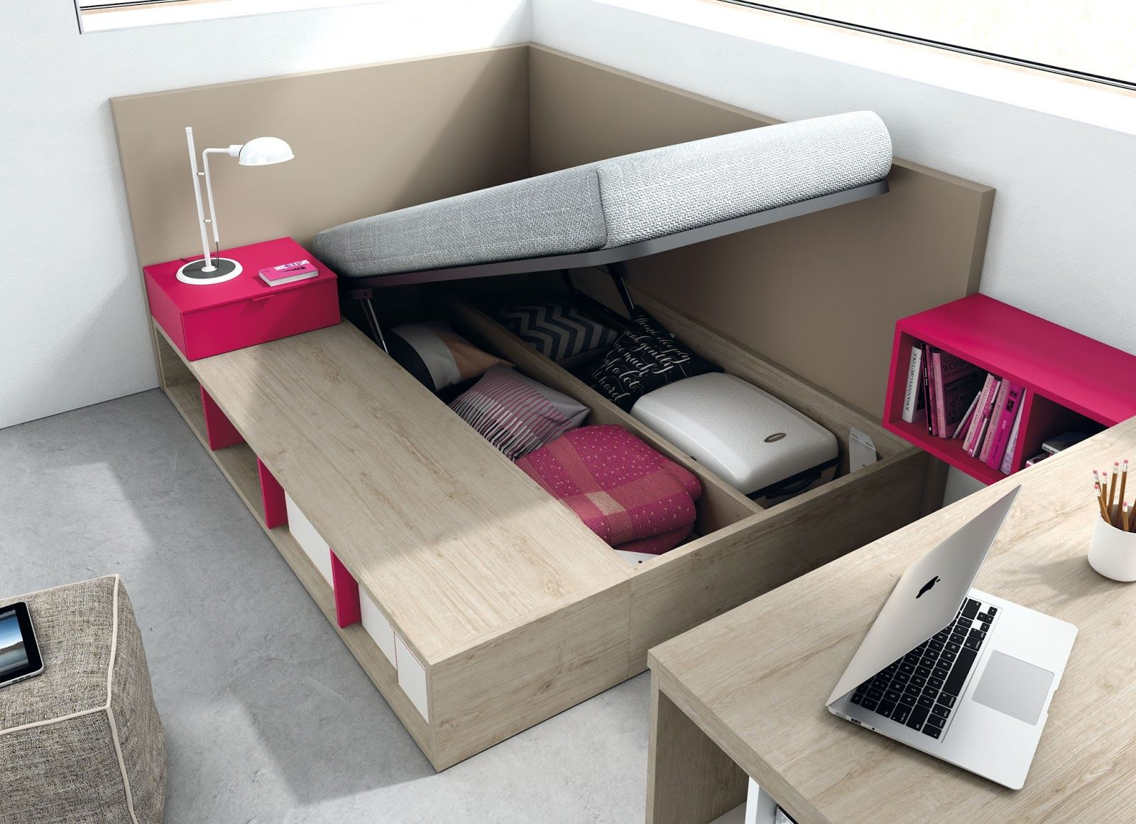 Dormitorios juveniles e infantiles tegar mobel camas for Muebles infantiles juveniles