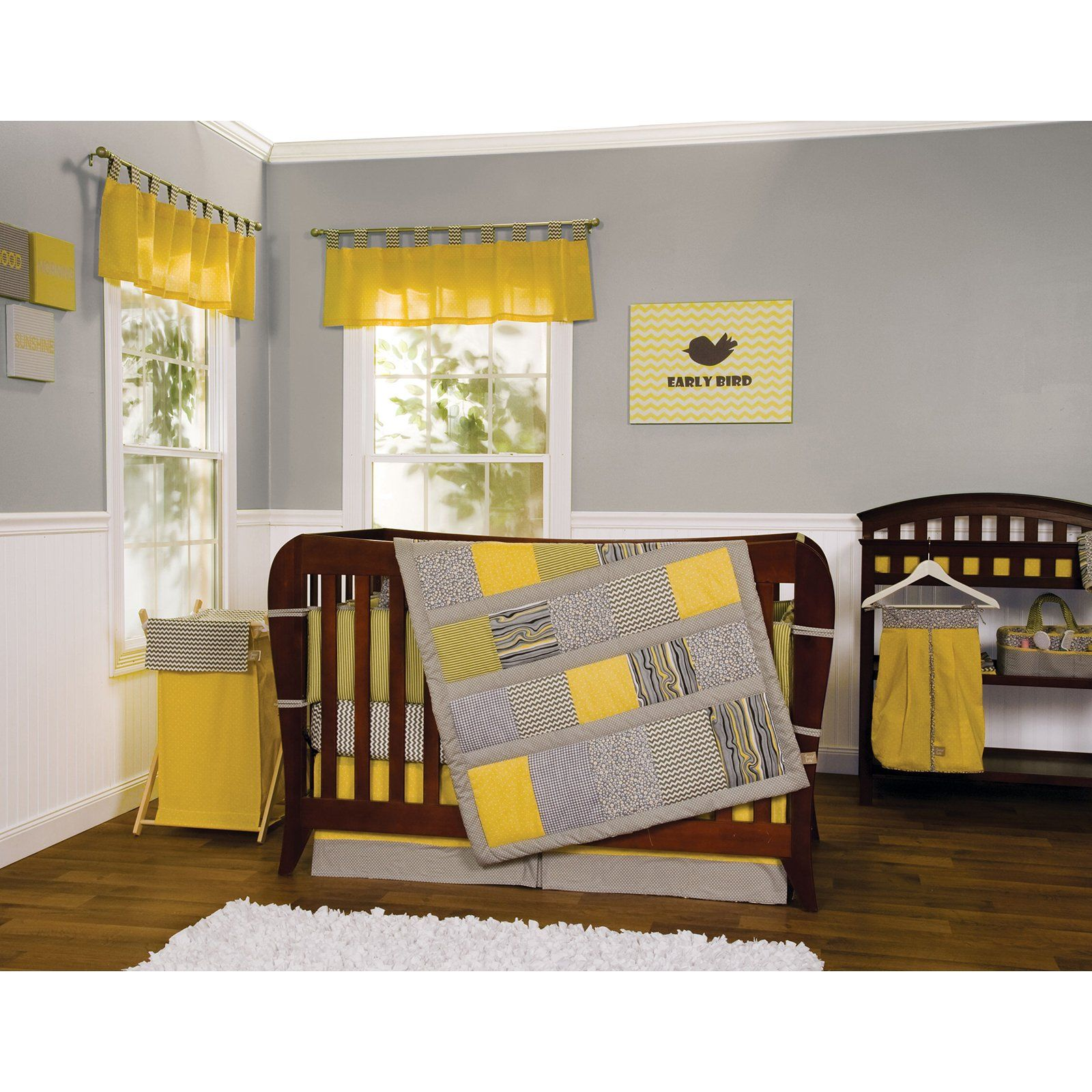 Trend Lab 3 Piece Hello Sunshine Crib Bedding Set $9224