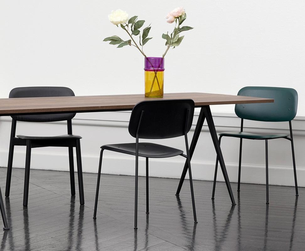 Stuhl Soft Edge Von Hay Setzt Auf Runde Formen Und Leichte Polster Bequemlichkeit Muss Einfach Sein Stuhl Hay Stuhle Esszimmerstuhle Zimmereinrichtung