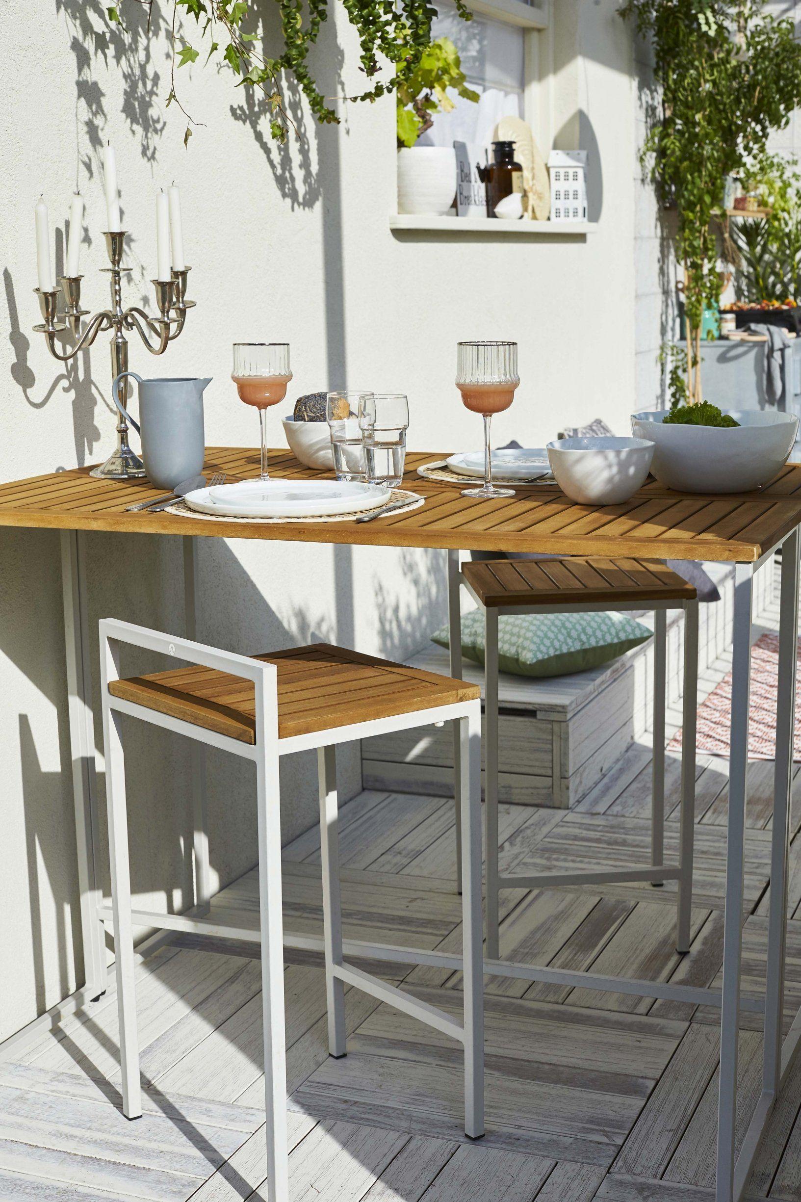20 Meubles Chics Et Pratiques Pour Le Balcon Table