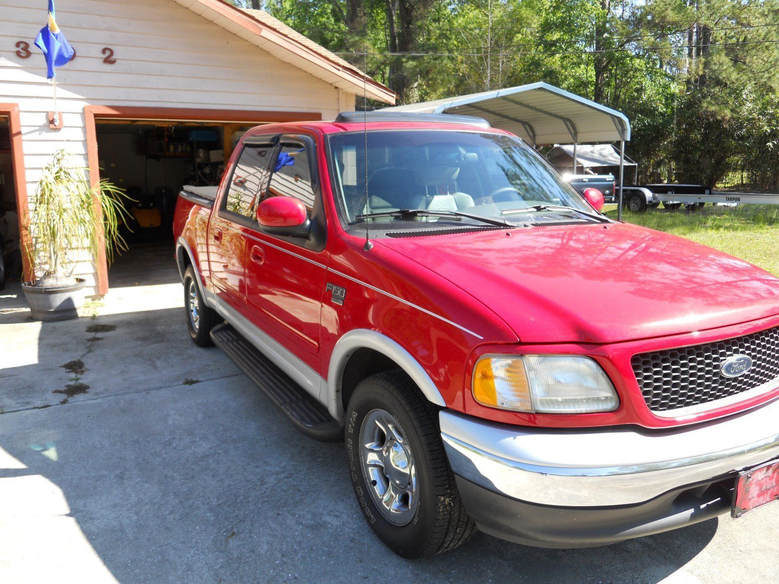 well maintained 2003 Ford F 150 Lariat pickup Pickups