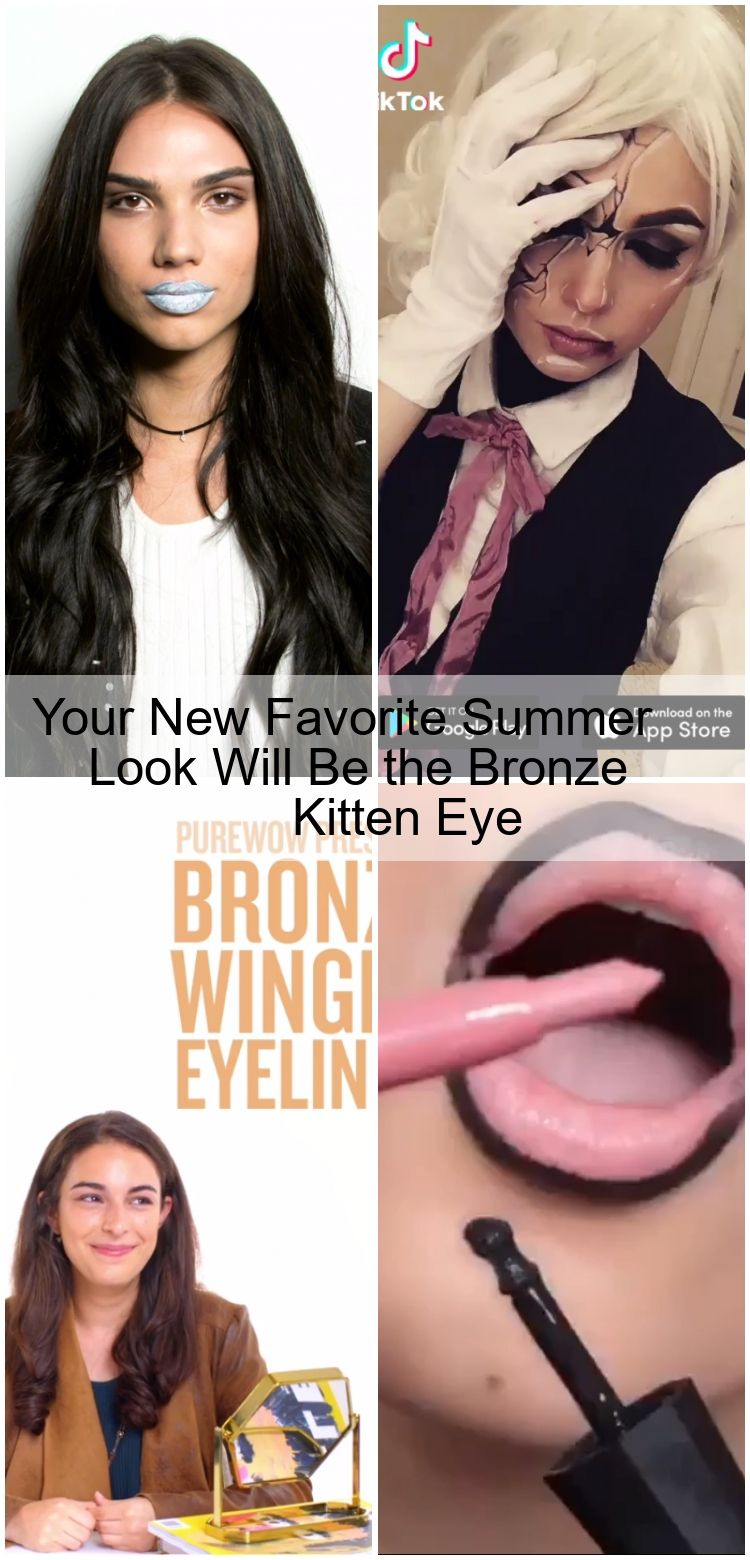 Photo of Your New Favorite Summer Look Will Be the Bronze Kitten Eye