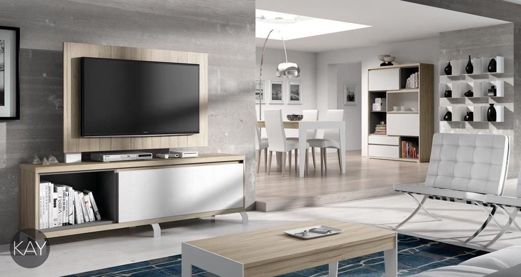 panel giratorio para la televisión modelo 101 | paneles tv ... - Muebles De Herreria Para Tv
