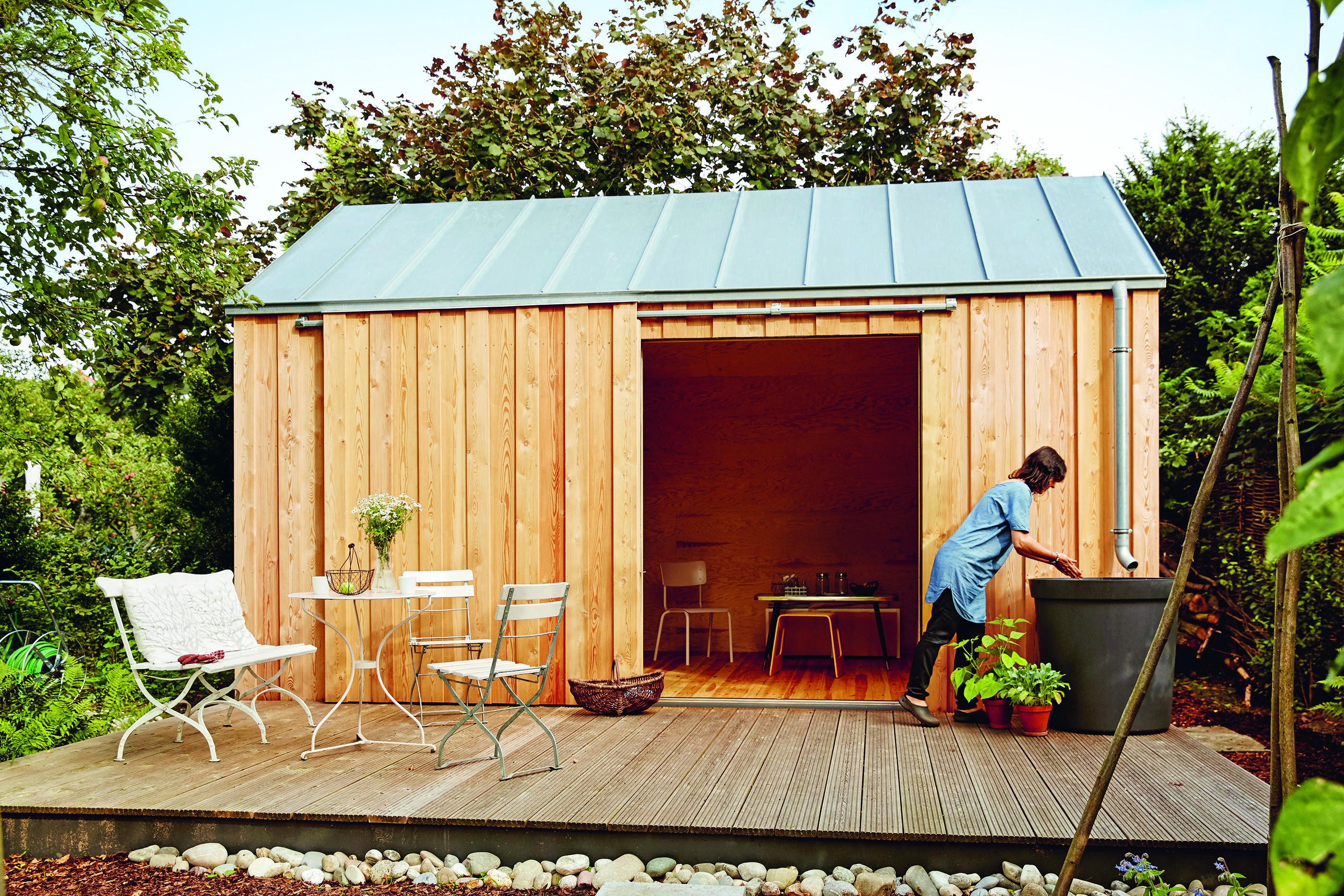 GartenhausIdeen für den Schrebergarten in 2020