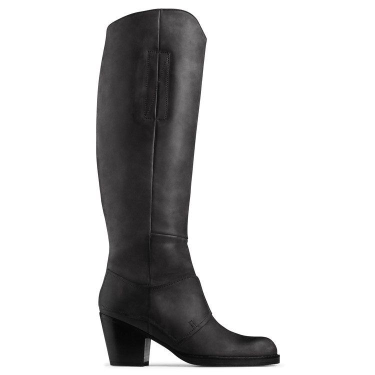 Acne Leather Riding Boots g6DJ2VvPFD