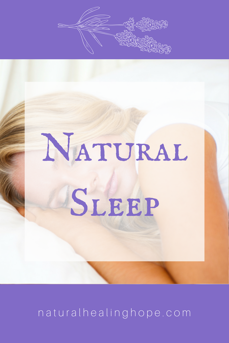 Natural Sleep Solutions to help you improve your health