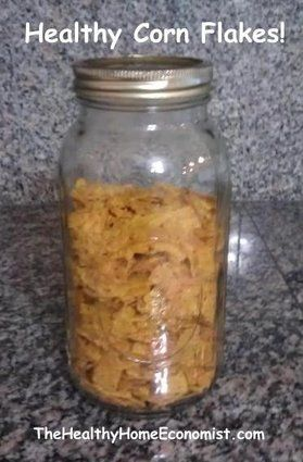 Homemade corn flakes recipe corn flakes cereal and flakes corn flakes cereal healthy and homemade the healthy home economist sounds too ccuart Image collections