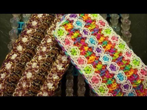 NEW!! Line Dancing Bracelet on the Rainbow Loom - YouTube