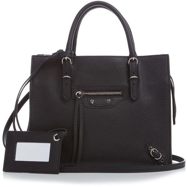 3e494dcbc309 Balenciaga Papier A4 mini leather cross-body bag ( 1
