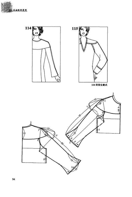 Выкройки длинных рукавов моделирование фото 687