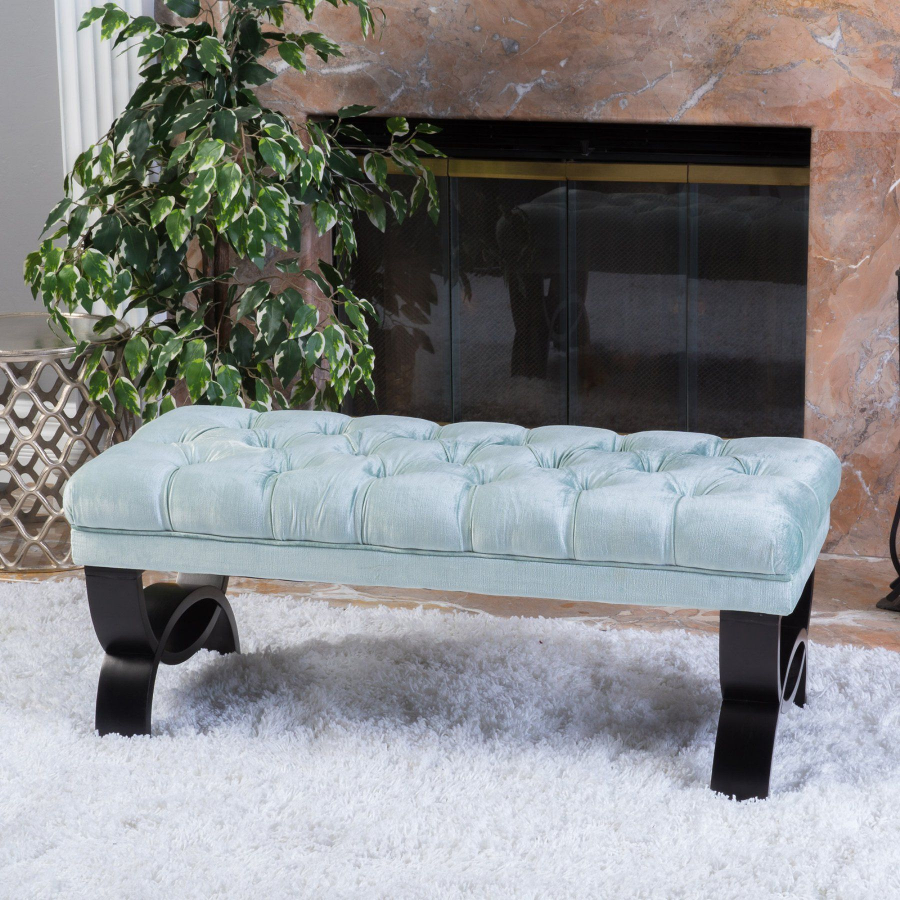 Best selling home umber ottoman bench ottoman bench
